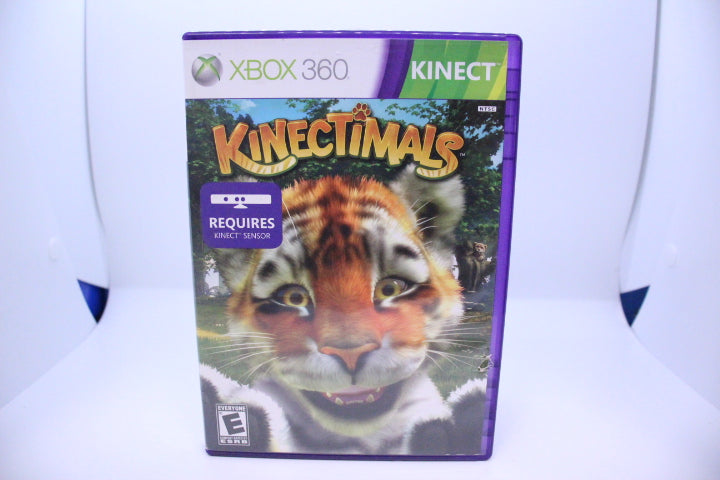Kinectimals with box and manual