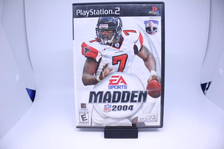 Madden NFL 2004 with box