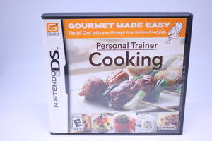 Personal Trainer: Cooking with box and manual