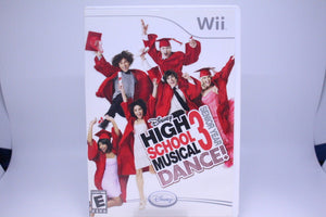 High School Musical 3: Senior Year Dance! with box and manual