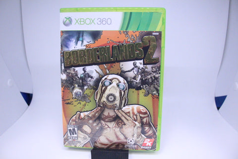 Borderlands 2 with box and manual