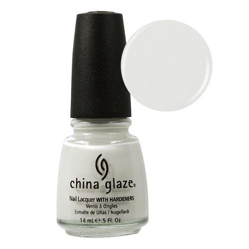 CHINA GLAZE ESMALTE UÑAS WHITE ON WHITE 14ML