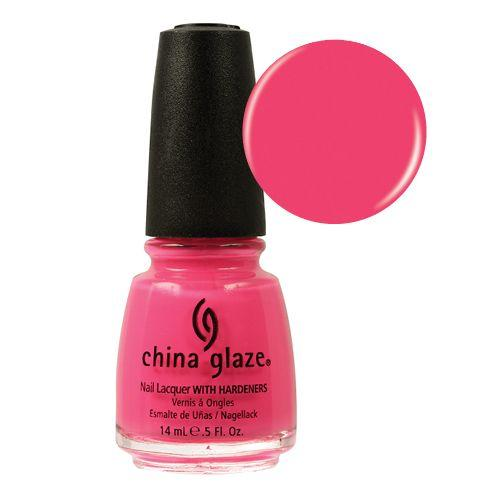 CHINA GLAZE ESMALTE UÑAS SHOCKING PINK 14ML