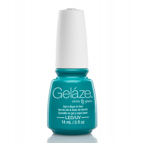 GELAZE TURNED UP TURQUOISE 14 ML - ESMALTE EN GEL