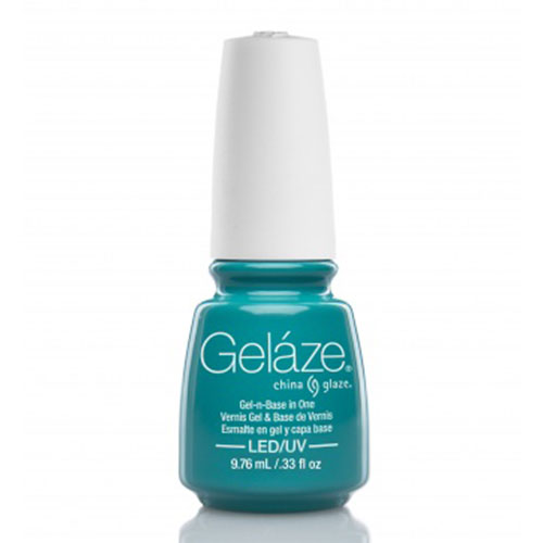 GELAZE TURNED UP TURQUOISE 9,75 ML - ESMALTE EN GEL