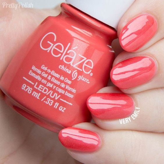 GELAZE CORAL STAR 9,75 ML - ESMALTE EN GEL