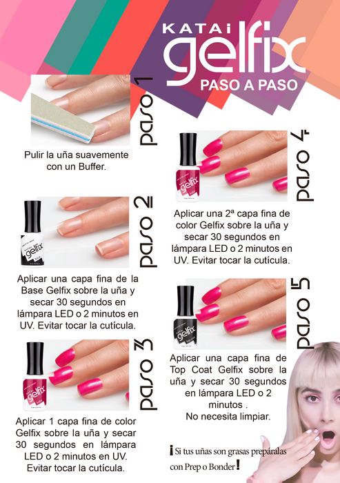 KATAI GELFIX - PALAWAN EN GEL SEMIPERMANENTE SECADO EN LED/UV 12ML