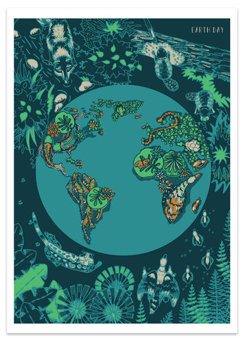Earth Day Limited Edition Fine Art Print by Alex! Jimenez