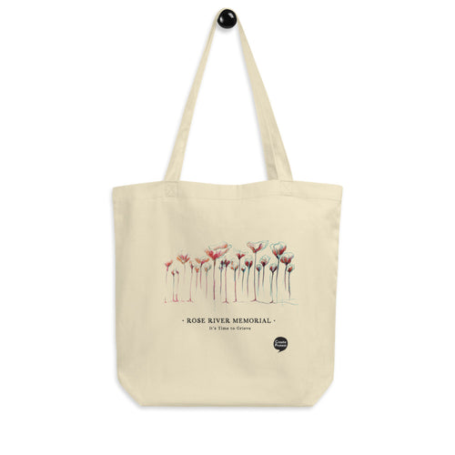 Rose River Memorial Eco Tote Bag by Marcos Lutyens