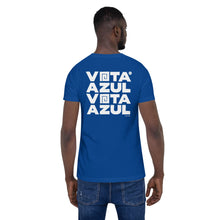 Load image into Gallery viewer, Vota Azul T-Shirt by Florencio Zavala - Royal Blue