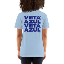 Load image into Gallery viewer, Vota Azul T-Shirt by Florencio Zavala