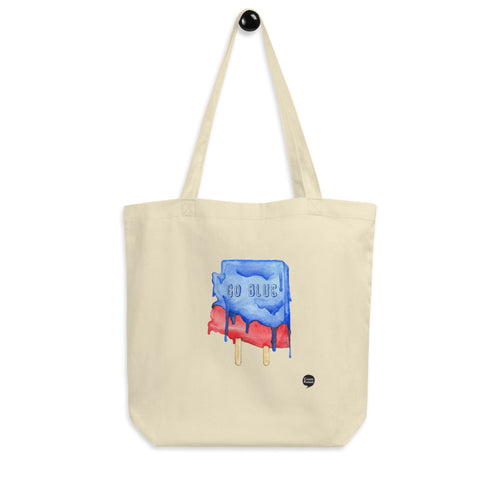Go Blue Arizona Eco Tote Bag by Alex! Jimenez