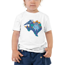 Load image into Gallery viewer, Vote Blue Y'all Toddler Tee by Gaby Fleming
