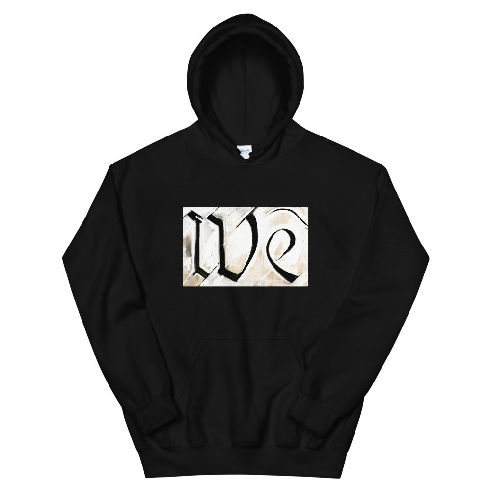 We Hoodie by Stephen Glassman