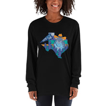 Load image into Gallery viewer, Vote Blue Y'all! Long Sleeve T-Shirt by Gaby Fleming