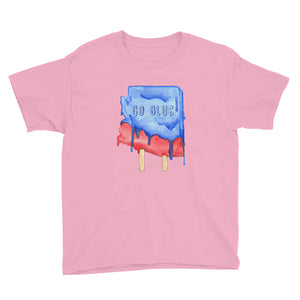 Go Blue Arizona Youth T-Shirt - Pink