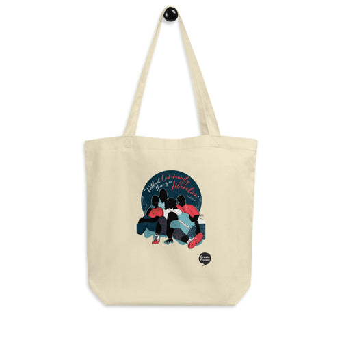 Without Community there is no Liberation Eco Tote Bag by Naimah Thomas