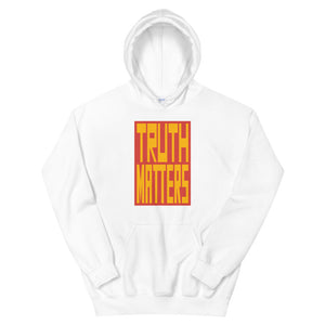 Truth Matters Hoodie by Juliette Bellocq