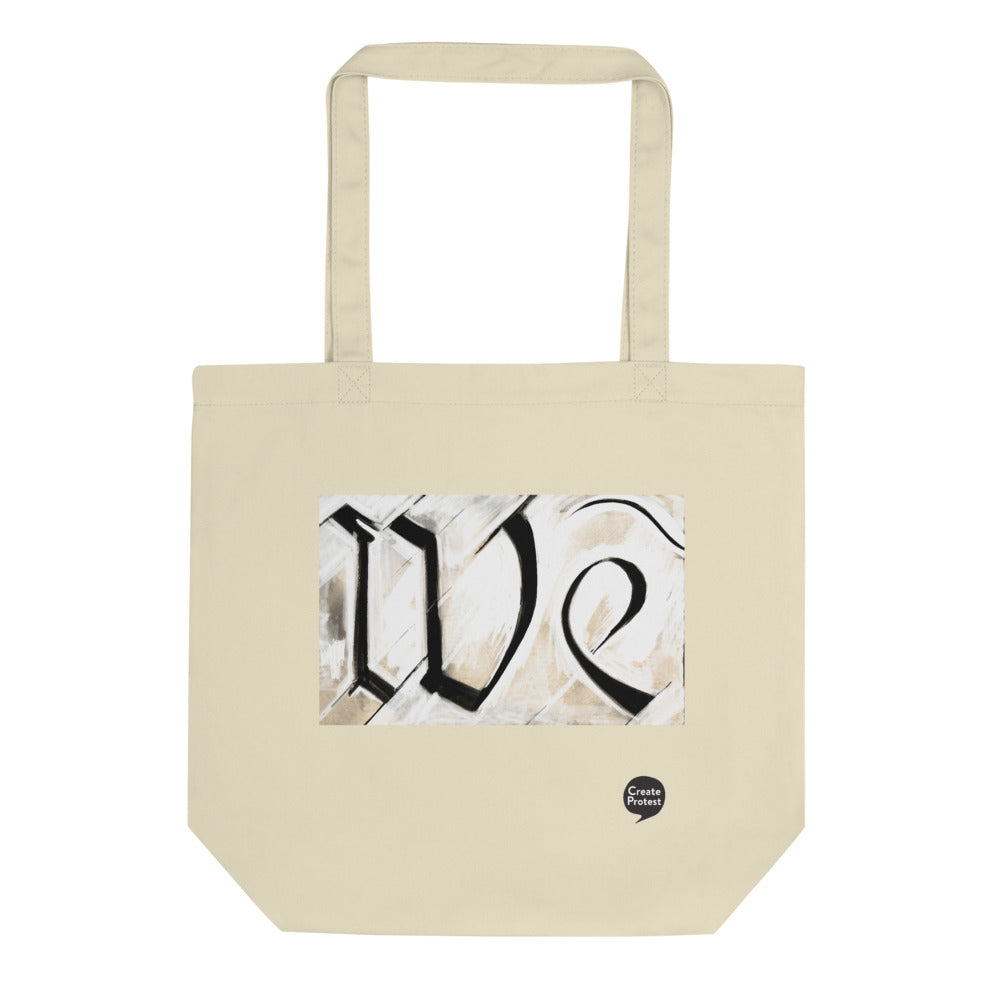 We Eco Tote Bag by Stephen Glassman