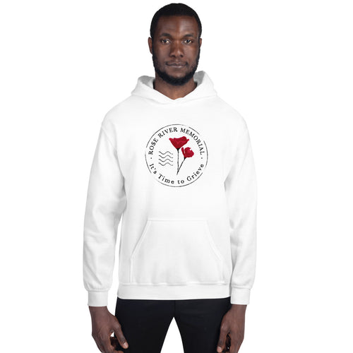 Rose River Memorial Logo Hoodie by Marcos Lutyens