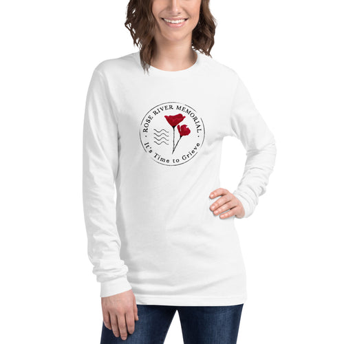 Rose River Memorial Logo Long Sleeve Tee by Marcos Lutyens