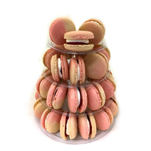 """It's a Girl!"" Macaron Tower"