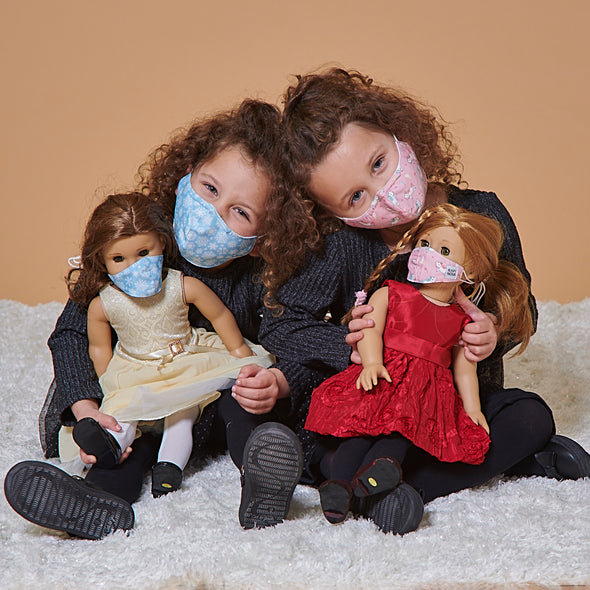 Kids + Doll Everyday Mask Set