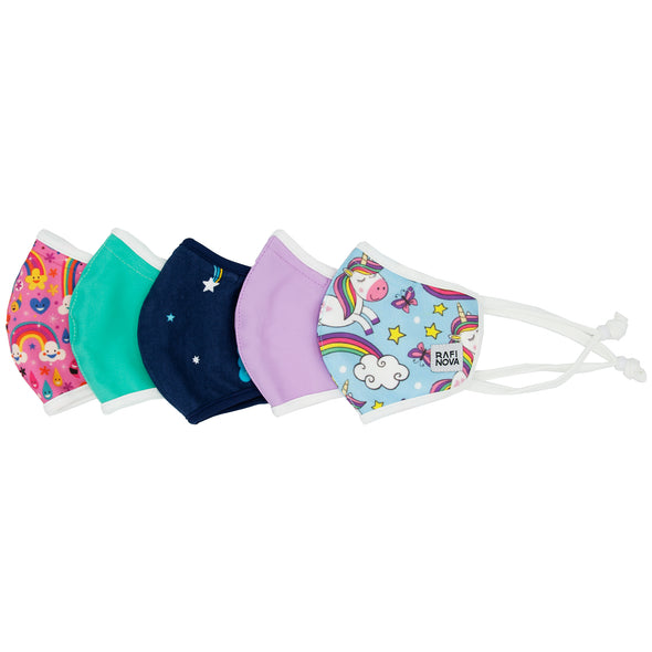 Little Kids SuperFit Mask 5-Pack