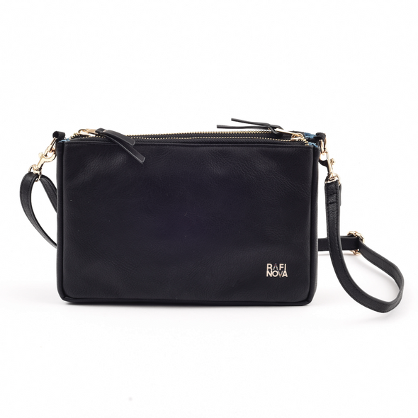 Black Sapa Crossbody Bag