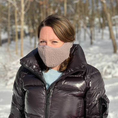 Adults + Kids Sherpa Winter Warmer Face Mask