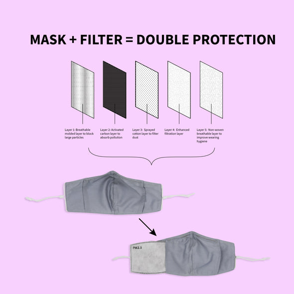 Disposable PM 2.5 Filters 10-Pack