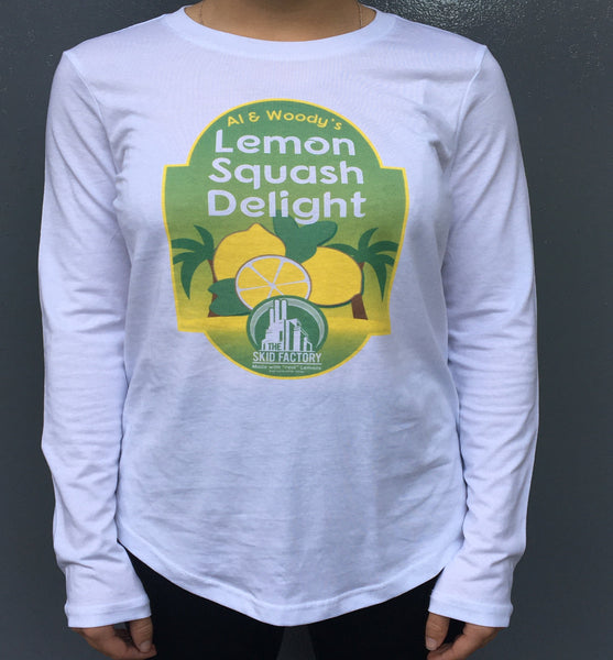Ladies Lemon Squash Delight -  Long sleeve T-shirt