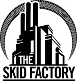 The Skid Factory Logo Sticker