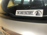 The Skid Factory Horizontal Vinyl Sticker