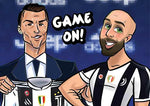 Cartoon Artwork for Ronaldo Fans