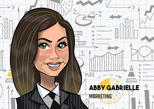 Cartoon Artwork for Business Woman