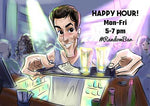 Cartoon ArtWork for Barman