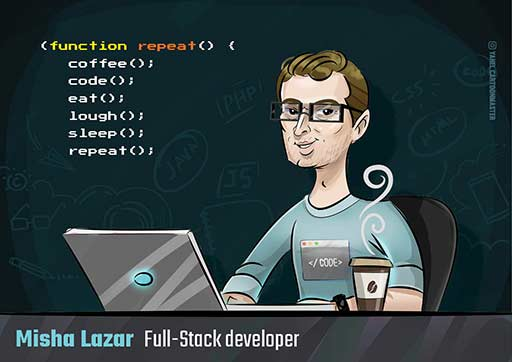 Cartoon Artwork for Developers