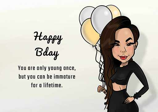 Cartoon Artwork for Birthday