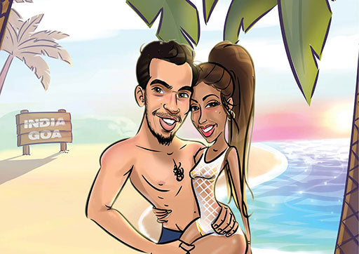 Cartoon Artwork for Vacation