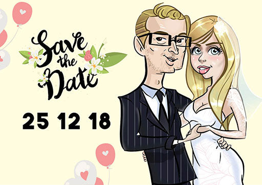 Yellow Save The Date