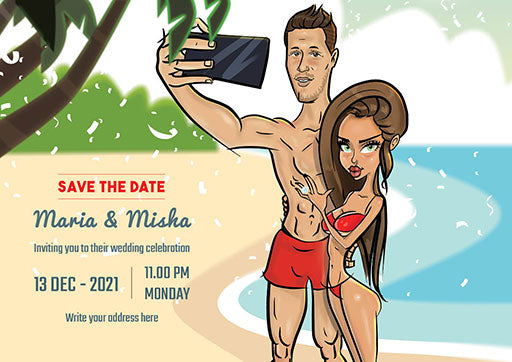 Cartoon ArtWork for Wedding Proposal