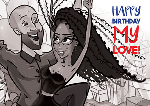 Cartoon Artwork Birthday
