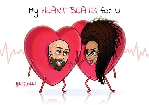 Cartoon Artwork for Lovers