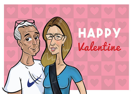 Cartoon Artwork for Valentin's Day