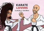 Cartoon Artwork for Karate Lovers