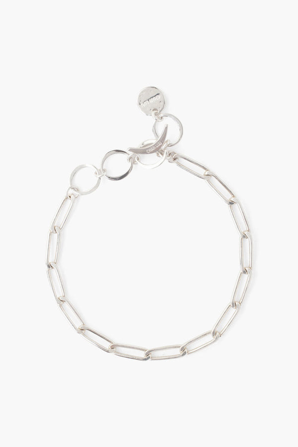 Sterling Silver Paperclip Bracelet - available on special order