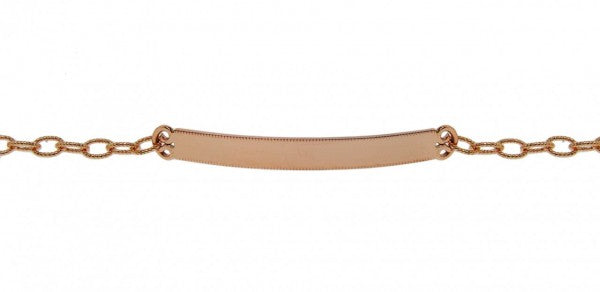 Rose Gold ID Bracelet - available on special order