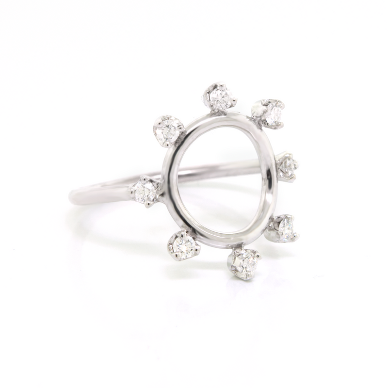 Diamond Sun Ring