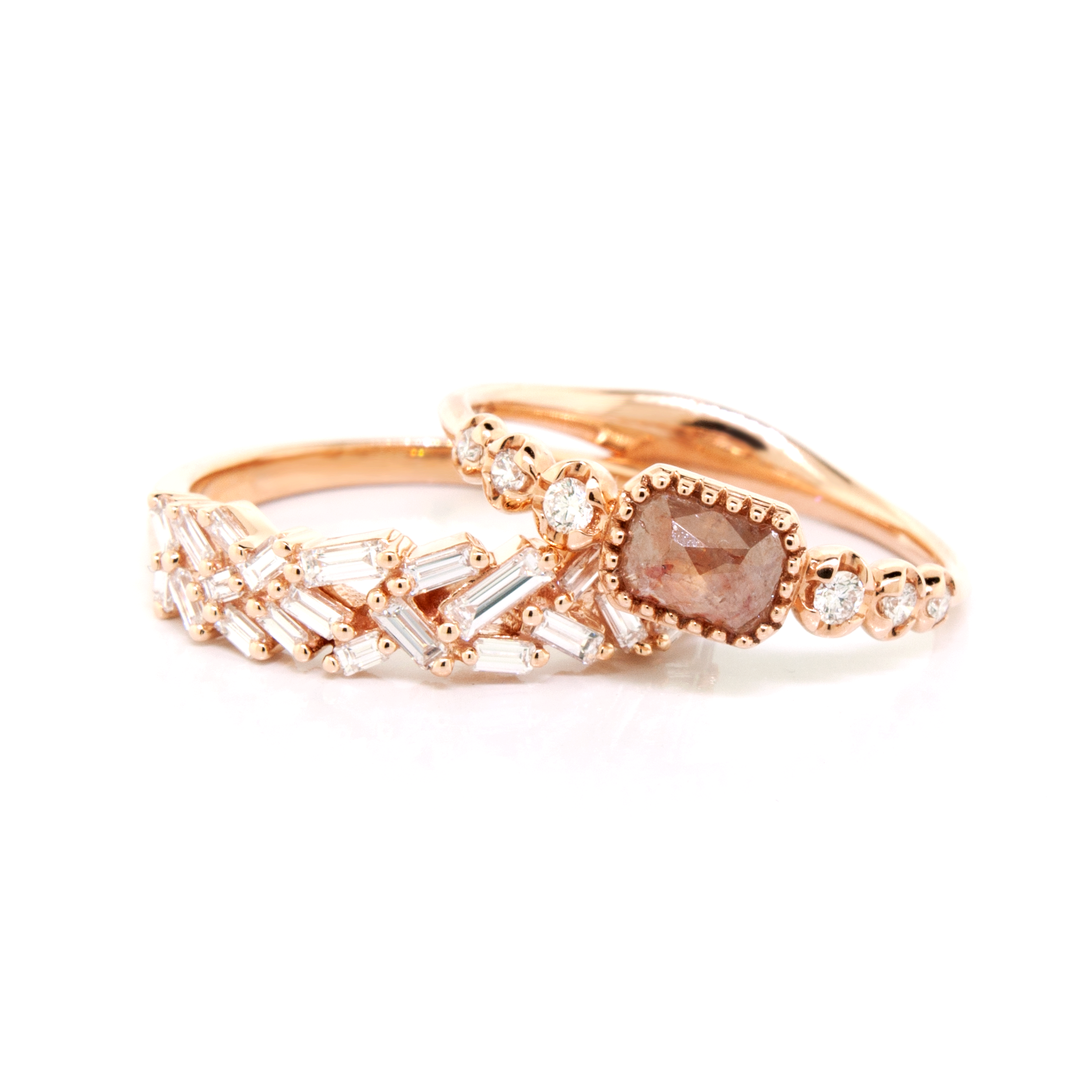Scattered Baguette Diamond Ring - available on special order